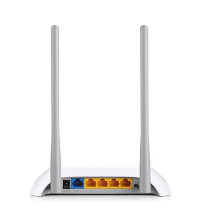 Tp-Link Wireless Router /  300Mbps / White