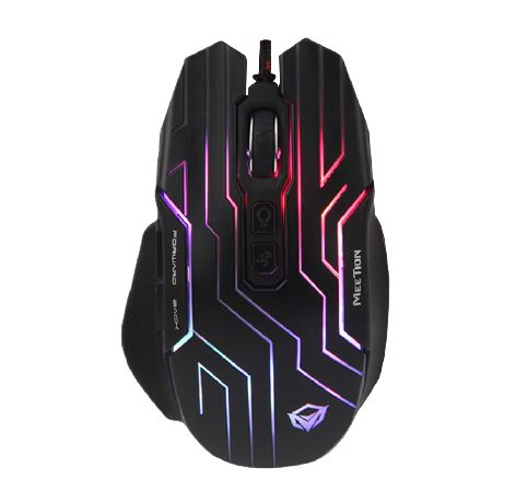 Meetion GM22 Mouse Gaming - RGB / 4800Dpi / Black