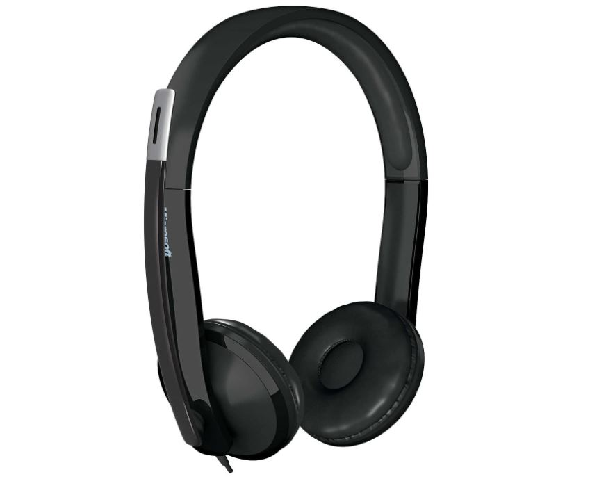 Microsoft LifeChat LX-6000 Headset With Microphone / USB / Black