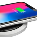 KLIP KMA-850 - Halo Wireless Charging Pad, Compatible with Samsung S8 / S9, Iphone X / 8/8 plus - Black