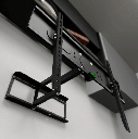 "Klip KPM-885 - Articulated Tilt and Swivel Mount for LED/LCD and Plasma Displays 26"" - 55"" / Up To 110 Pounds / Black"