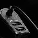 KLIP KMA-111 - Car Charger With Two Usb Ports - Black