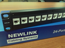 NEWLINK network PATCH PANEL PREMIUM CAT6A