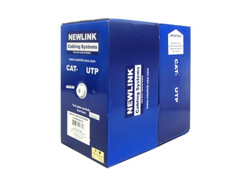 [NEW-NET-CBL-9806742-BL-320] Newlink CAT6 UTP - Rollo de Cable de Red  (Azul)