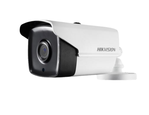 Hikvision DS-2CE16C0T-IT3F Turbo 720p / Camera Bala Metal / 2.8mm IR / 40m / Plastico / IP66 / Blanco