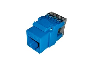 [NEW-NET-ACC-3667706-BL-320] Newlink Conector Jack RJ45, Cat6A - Disponible en diferentes colores (Azul)