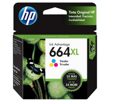 HP 664XL Tricolor - Cartucho de Tinta