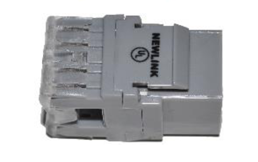 Newlink Conector Jack RJ45, Cat6A - Disponible en diferentes colores