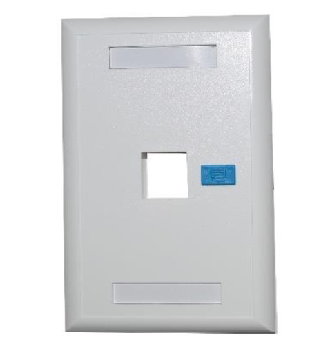 Newlink Tapa de Pared (Faceplate) - Disponible en 1 y 2 puertos