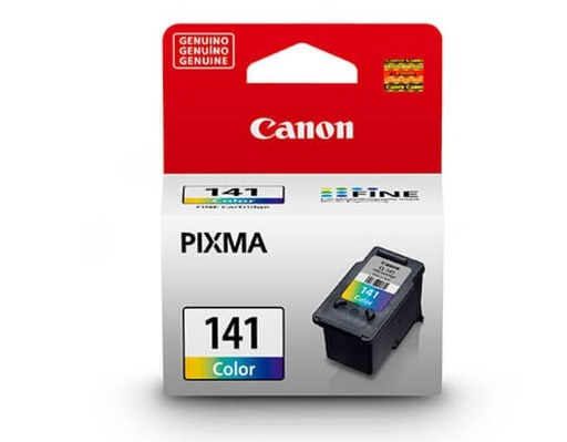 [CAN-PRT-INK/TON-CL141-TR-320] Canon CL-141 Cartuchos de tinta Colores