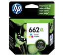 HP 662XL Tricolor Cartuchos de Tinta
