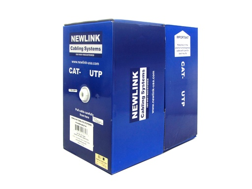 Newlink CAT6 UTP - Rollo de Cable de Red