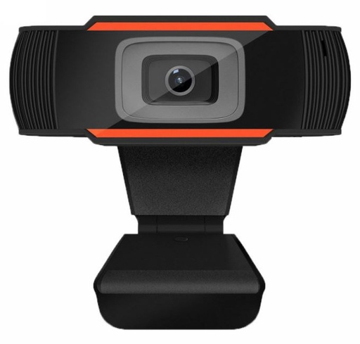 Genérico WebCam WC1080 / HD /  USB / Negro (720p y 1080p Disponibles)